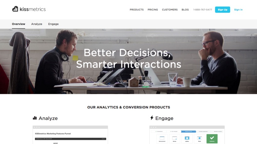 clutter-whitespace-kissmetrics-product-page