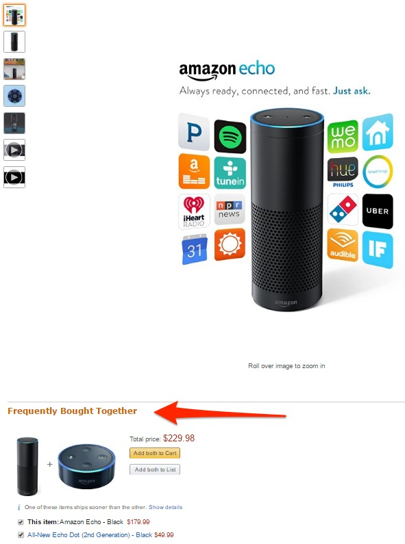 amazon-echo-product-recommendations