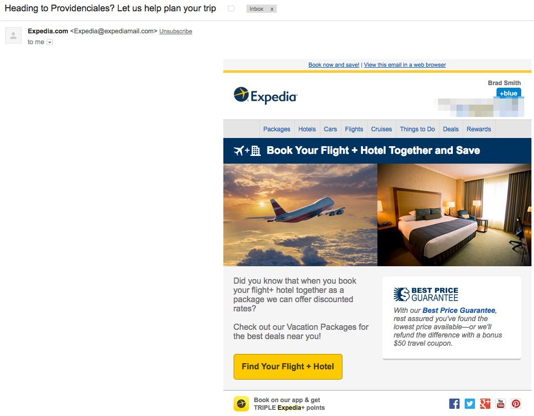 expedia-recent-booking-email