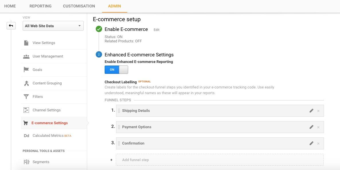 A Step-by-Step Guide to Using Google Analytics' Enhanced Ecommerce