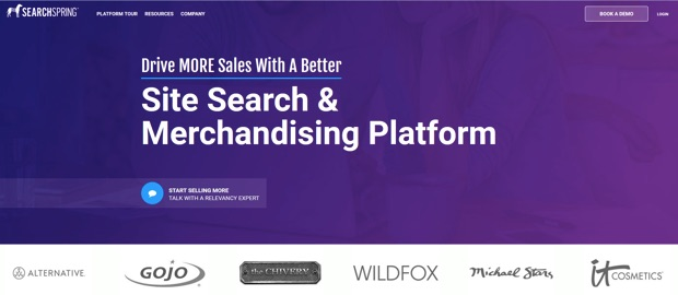 searchspring-homepage-2017