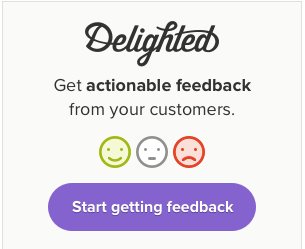 delighted start getting feedback