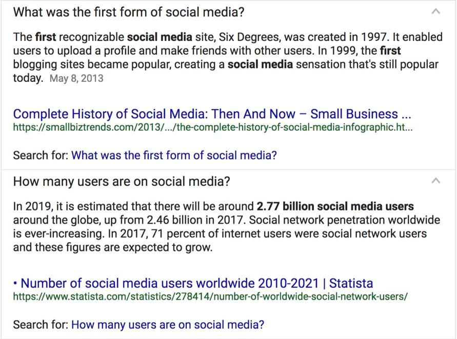 first form of social media