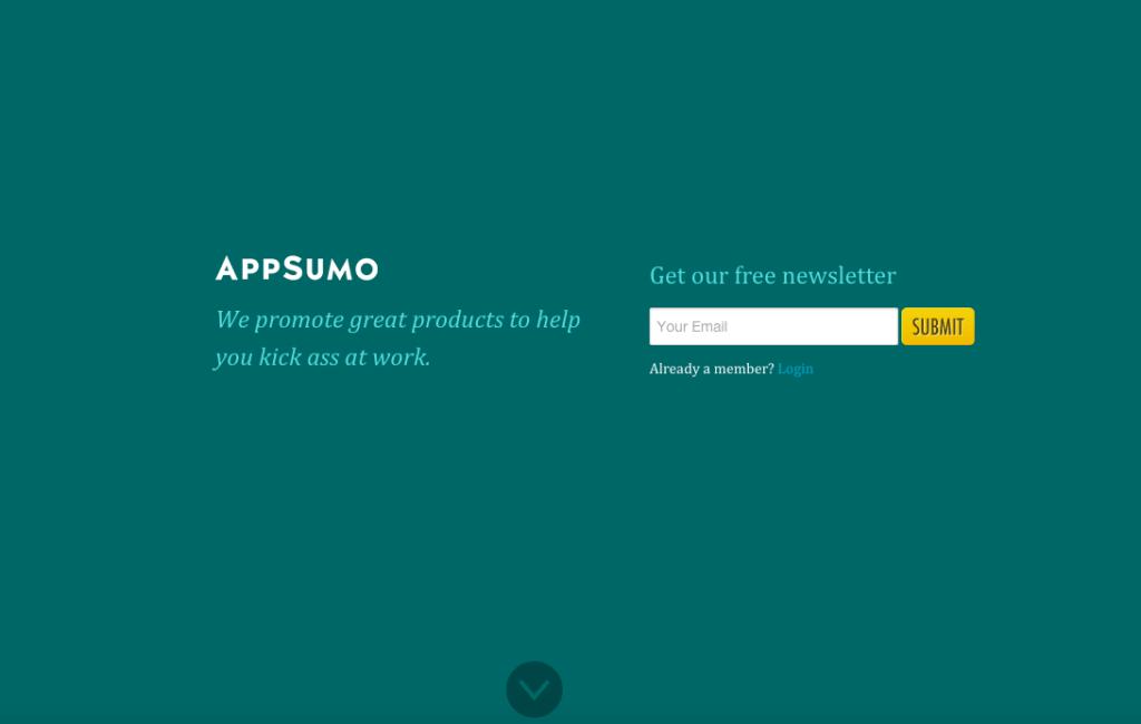 appsumo-welcome-mat