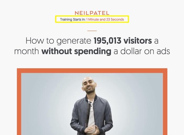 neil-patel-training-coutndown-spam
